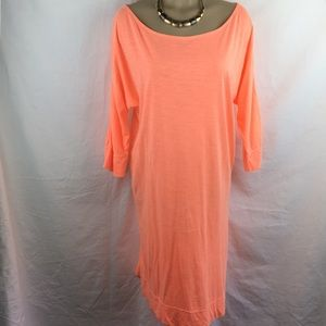 Lilly Pulitzer Orange Cotton T Shirt Dress